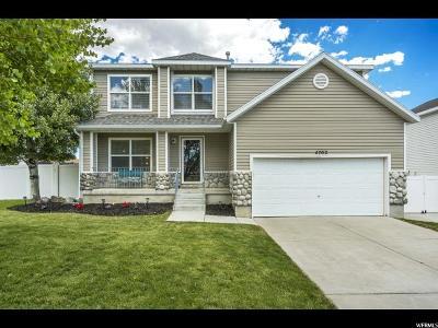 Herriman Single Family Home Backup: 4702 W Midas Park Rd