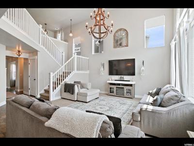 Herriman Single Family Home Under Contract: 4897 W Rose Quartz Rd