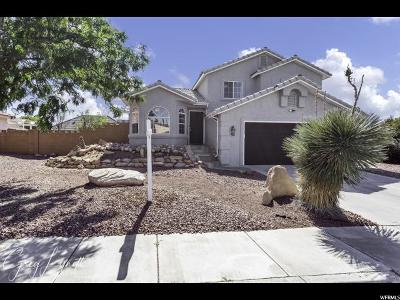 St. George Single Family Home For Sale: 80 N 2040 E
