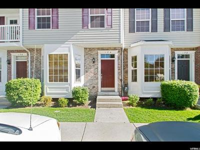 Springville Townhouse For Sale: 174 E 800 N