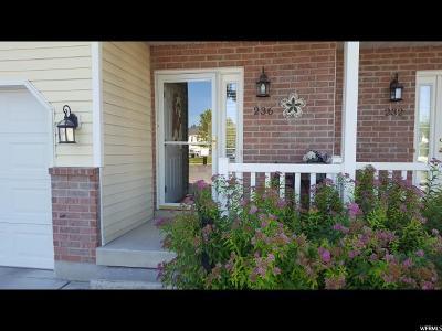 Smithfield Townhouse For Sale: 236 E 830 S