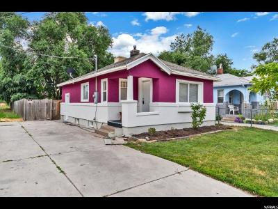 Ogden Single Family Home Under Contract: 221 E 32nd St S