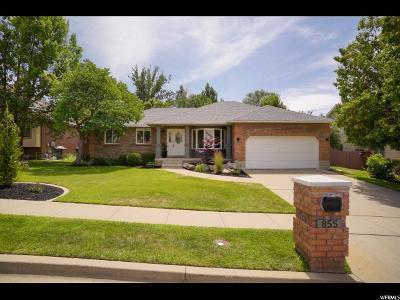 South Ogden Single Family Home For Sale: 855 E Windemere Ln
