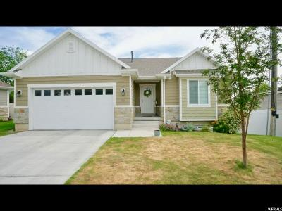 American Fork Single Family Home For Sale: 153 N 150 Cir W #5