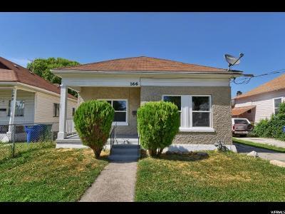 Ogden Single Family Home For Sale: 166 E Patterson