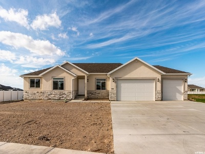 Tooele County Single Family Home For Sale: 743 E Sunset View Rd #820