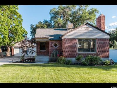 Holladay Single Family Home Under Contract: 1944 E Spring Ln