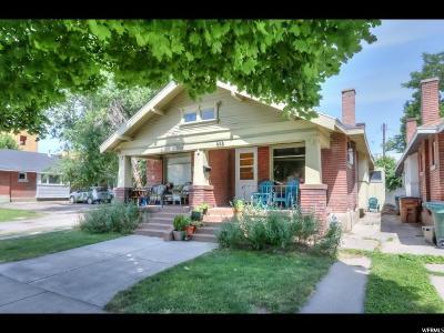 Salt Lake City Multi Family Home Under Contract: 553 S 500 E