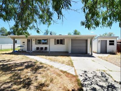 Sandy Single Family Home Under Contract: 756 E Carnation Dr