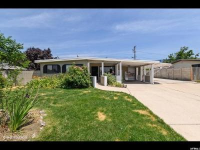Bountiful Single Family Home Under Contract: 1054 N 250 W