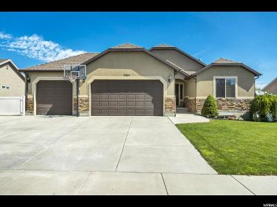 Herriman Single Family Home Under Contract: 5064 W Leila Ln S