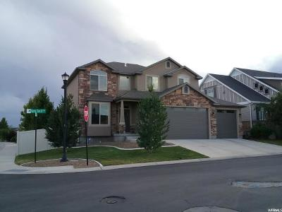 South Jordan Single Family Home For Sale: 3873 W Nipoma Dune