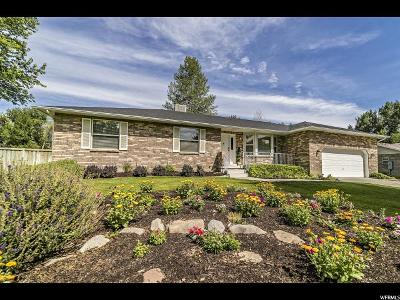 Highland Single Family Home Under Contract: 9874 N Pheasant Dr