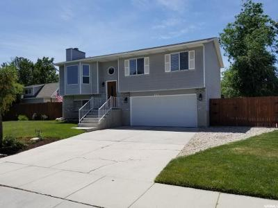 Riverton Single Family Home For Sale: 12710 S 2295 W