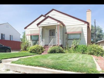 South Ogden Single Family Home For Sale: 161 Country Club Dr