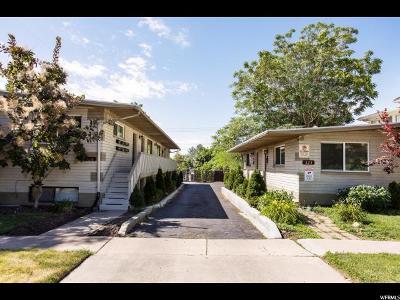 Salt Lake City Multi Family Home For Sale: 324 E Second Ave N