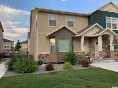 Eagle Mountain Townhouse For Sale: 3660 E Quartz Creek Ln #20
