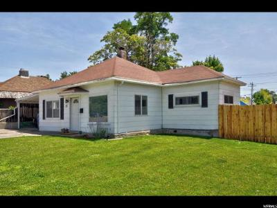 Sandy Single Family Home For Sale: 20 E 8680 S