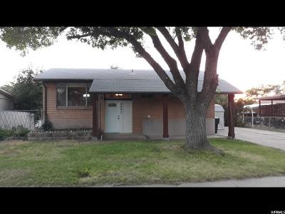 Clinton Single Family Home For Sale: 2487 N 690 W