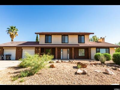 St. George Single Family Home For Sale: 841 S 1740 W
