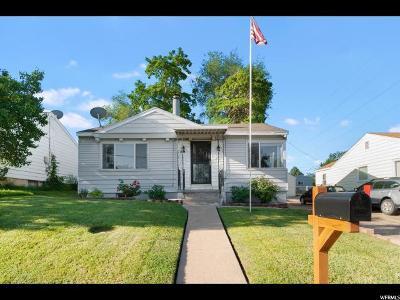 Ogden Single Family Home For Sale: 533 41st St
