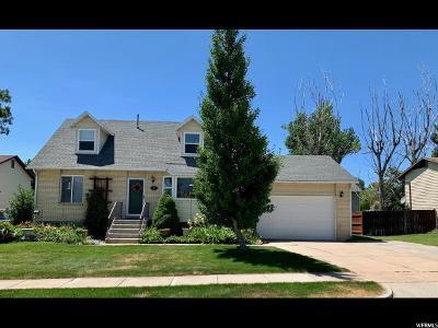 Layton UT Single Family Home For Sale: $309,900