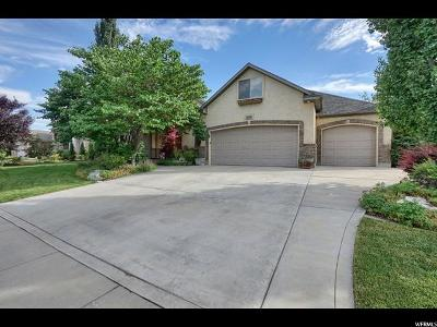 Cedar Hills Single Family Home Under Contract: 4212 W Mesquite Way