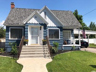 Logan UT Single Family Home For Sale: $257,900