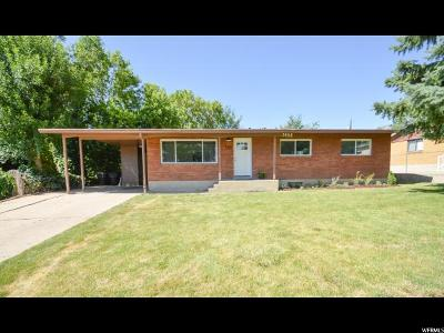 Kaysville Single Family Home Under Contract: 545 E 250 N