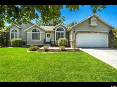 Draper Single Family Home For Sale: 118 E Cranberry Hill Dr S