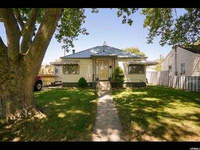 Ogden Single Family Home For Sale: 172 W Ray St W