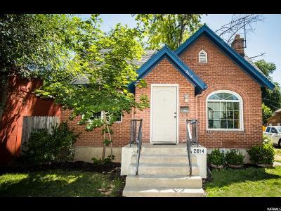 Ogden Single Family Home For Sale: 2814 Monroe Blvd