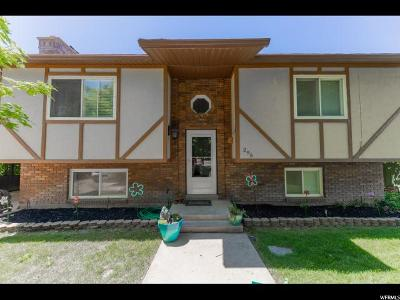 Millville Single Family Home Under Contract: 295 N 100 E