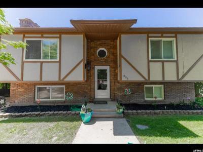 Millville Single Family Home For Sale: 295 N 100 E