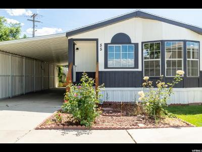 Midvale Single Family Home For Sale: 150 W 7500 S #55