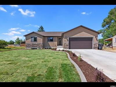 Santaquin Single Family Home Under Contract: 219 E 200 N