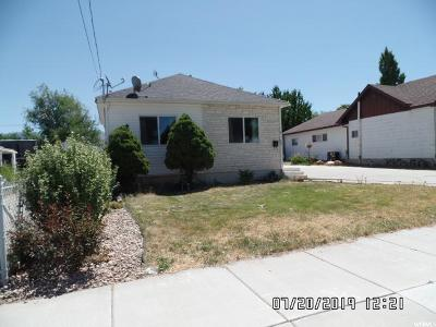 Tooele County Single Family Home For Sale: 294 N 100 St E