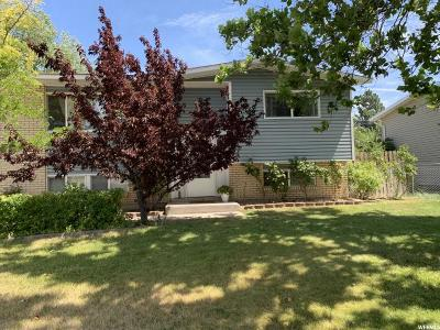 Sandy Single Family Home Under Contract: 1077 E Turquoise Way S