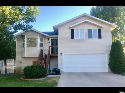 Logan UT Single Family Home For Sale: $245,000
