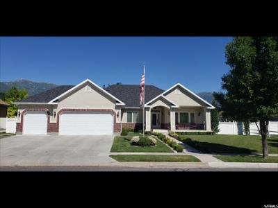 Kaysville Single Family Home Under Contract: 2169 S 100 E