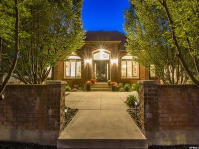 Kaysville Single Family Home For Sale: 677 Woodland Valley Dr S