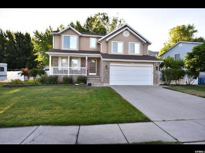 Centerville Single Family Home Under Contract: 1608 N Pony Express Way W