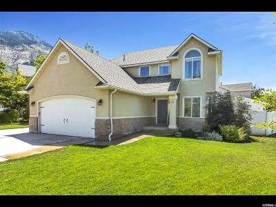 North Ogden Single Family Home Under Contract: 853 E 1750 N