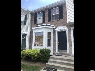 Springville Townhouse For Sale: 726 N 150 E #726
