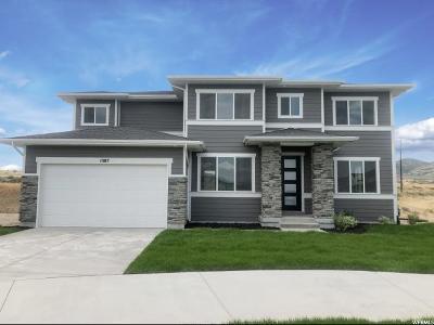 Bluffdale Single Family Home Under Contract: 1087 W Sebal Ln W
