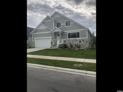 Midway Single Family Home For Sale: 1218 Canyon View Rd