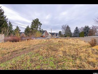 Salt Lake City UT Residential Lots & Land For Sale: $275,000