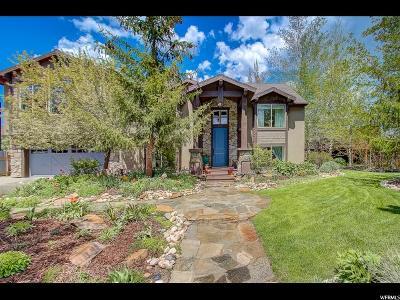 Park City UT Single Family Home For Sale: $1,686,400