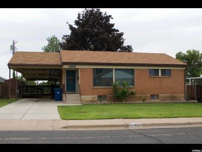 Washington Terrace UT Single Family Home For Sale: $246,000