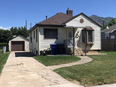Ogden UT Single Family Home For Sale: $214,900